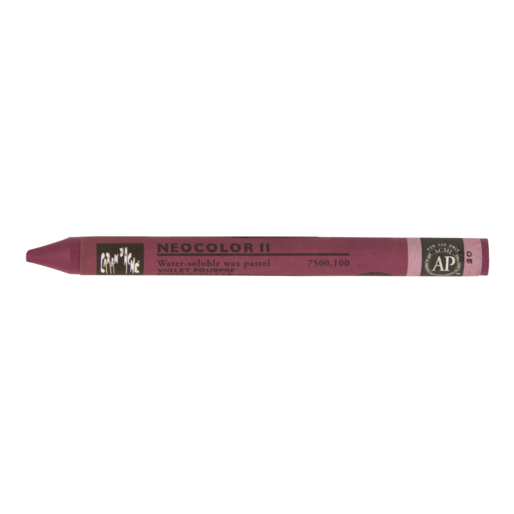 Neocolor Ii Watercolor Crayon 100 Purple Vlt