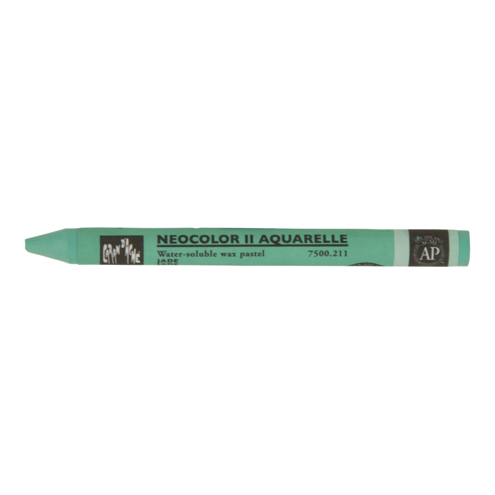 Neocolor Ii Watercolor Crayon 211 Jade Green