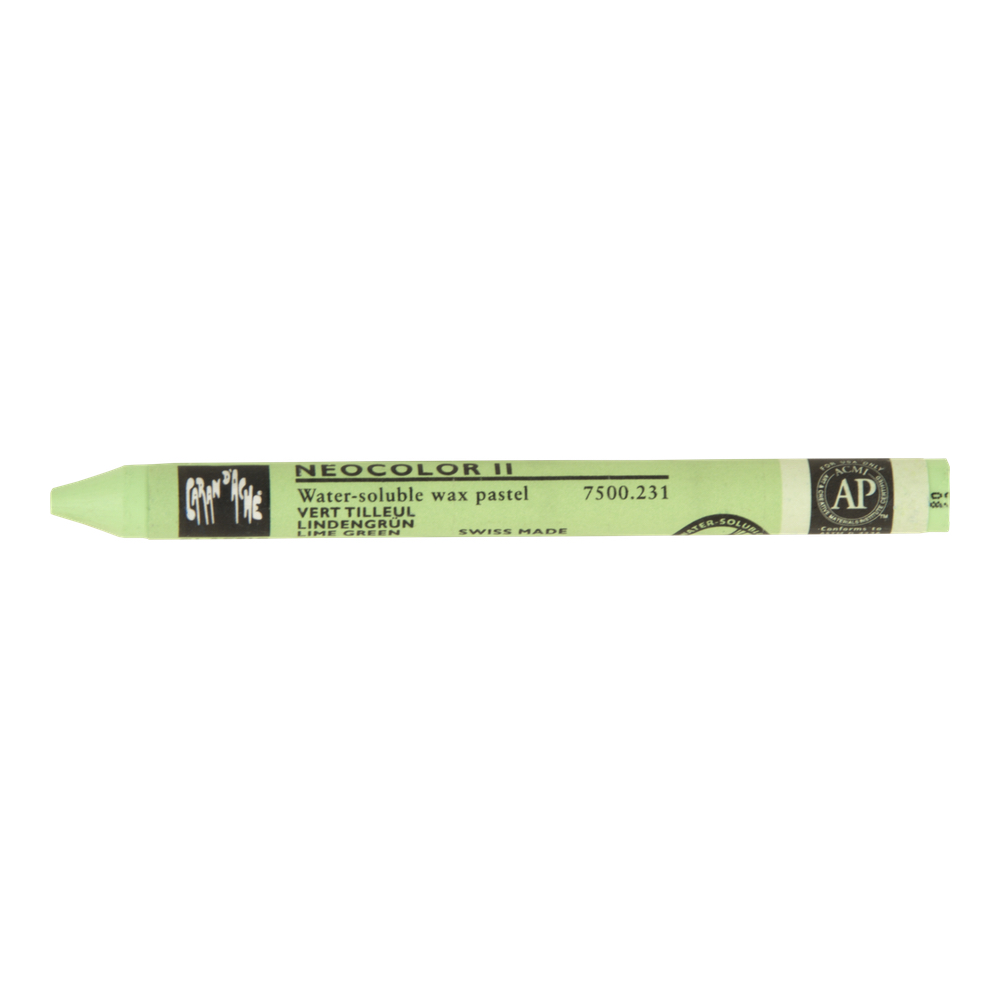 Neocolor Ii Watercolor Crayon 231 Lime Green