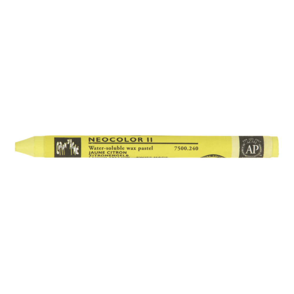 Neocolor Ii Watercolor Crayon 240 Lemon Yllw