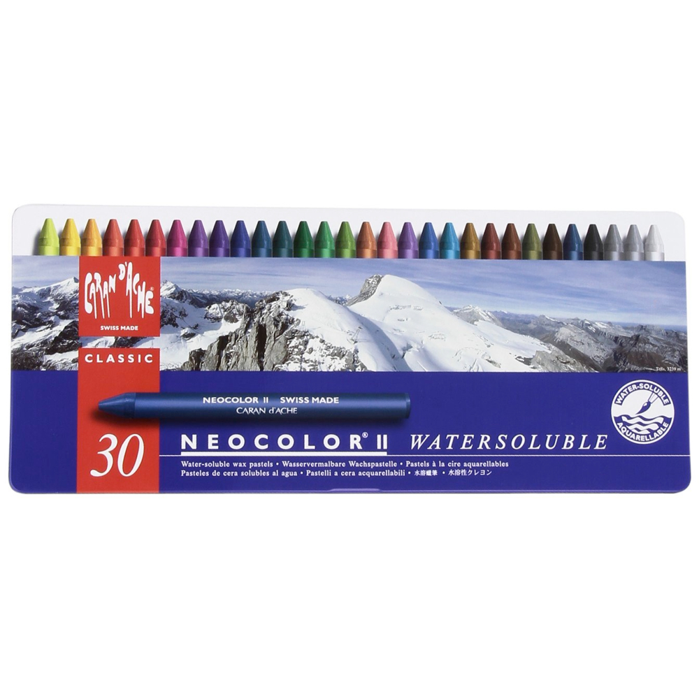 Neocolor Ii 30 Watersoluble Crayon Set