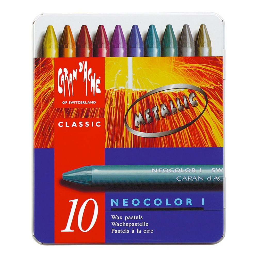 Neocolor I Metallic Crayon Set Of 10