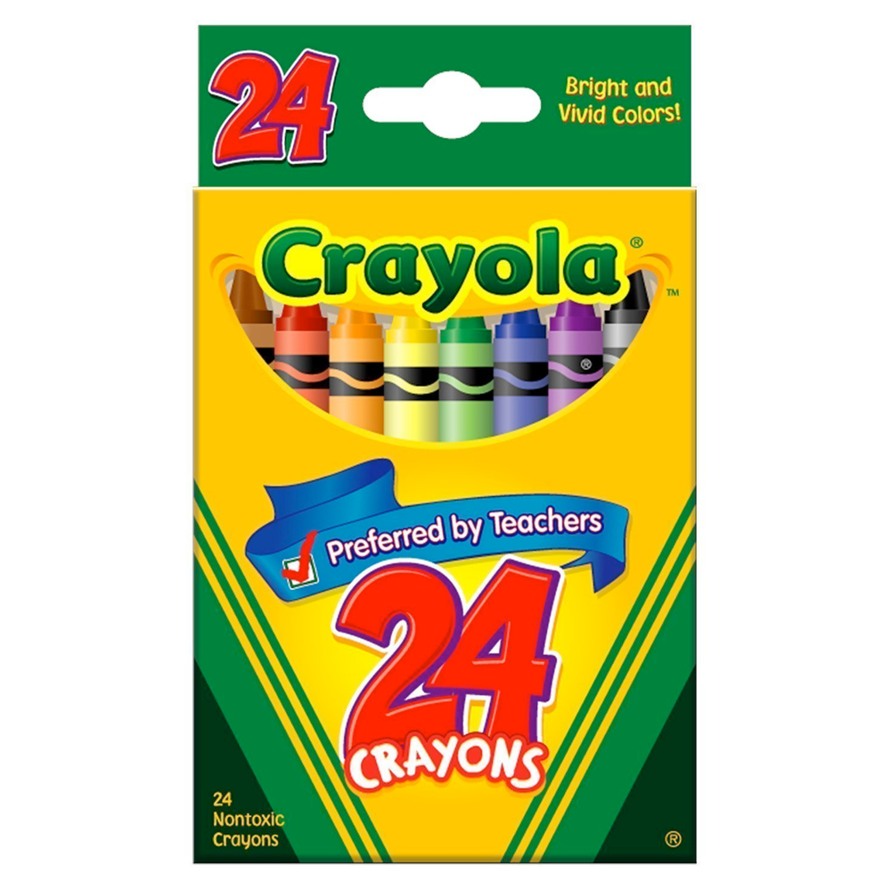 Crayola 52-3024 24 Regular Crayons