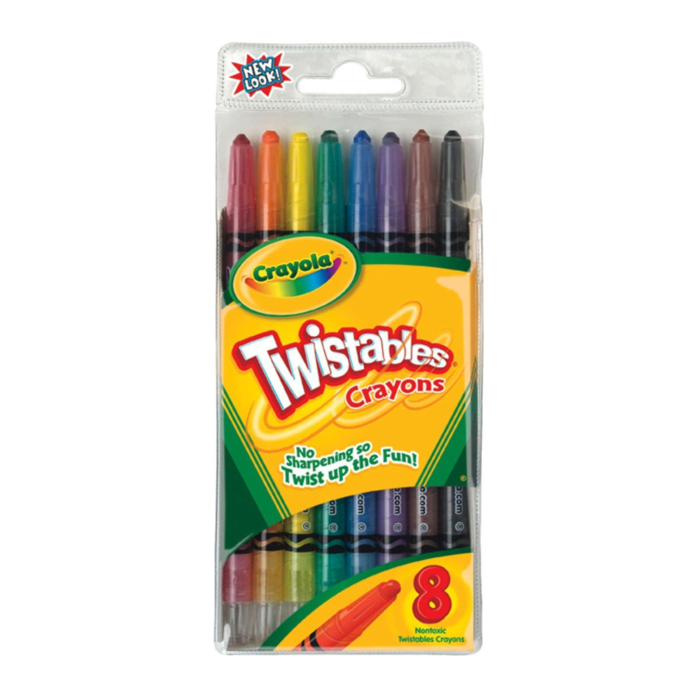 Crayola Twistable Crayons 8 Pack