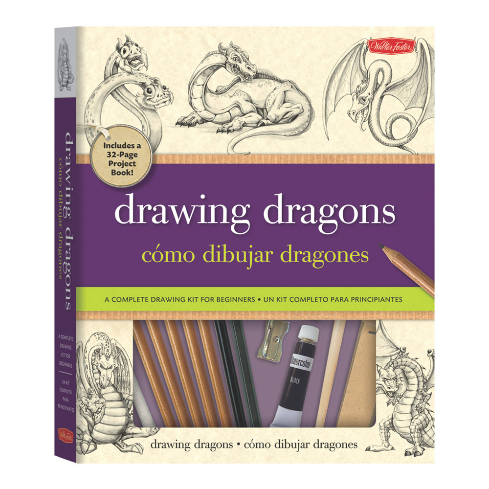Foster Drawing Dragons Kit