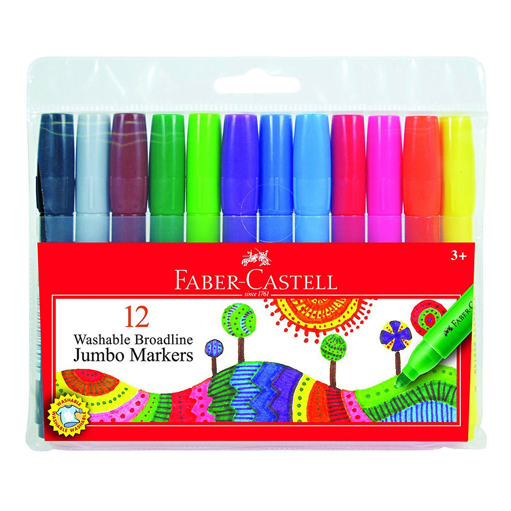 Washable Grip Markers 20 Count