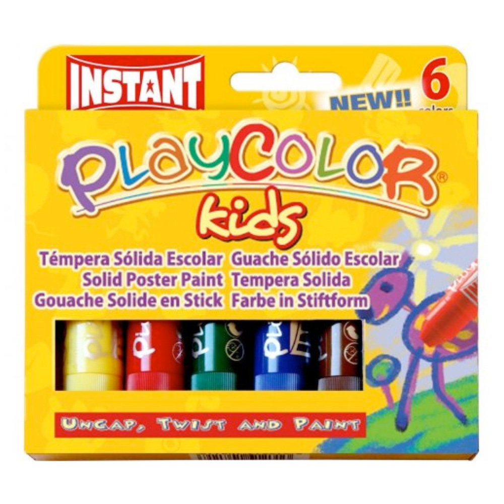 Playcolor Set Of 6 Colors