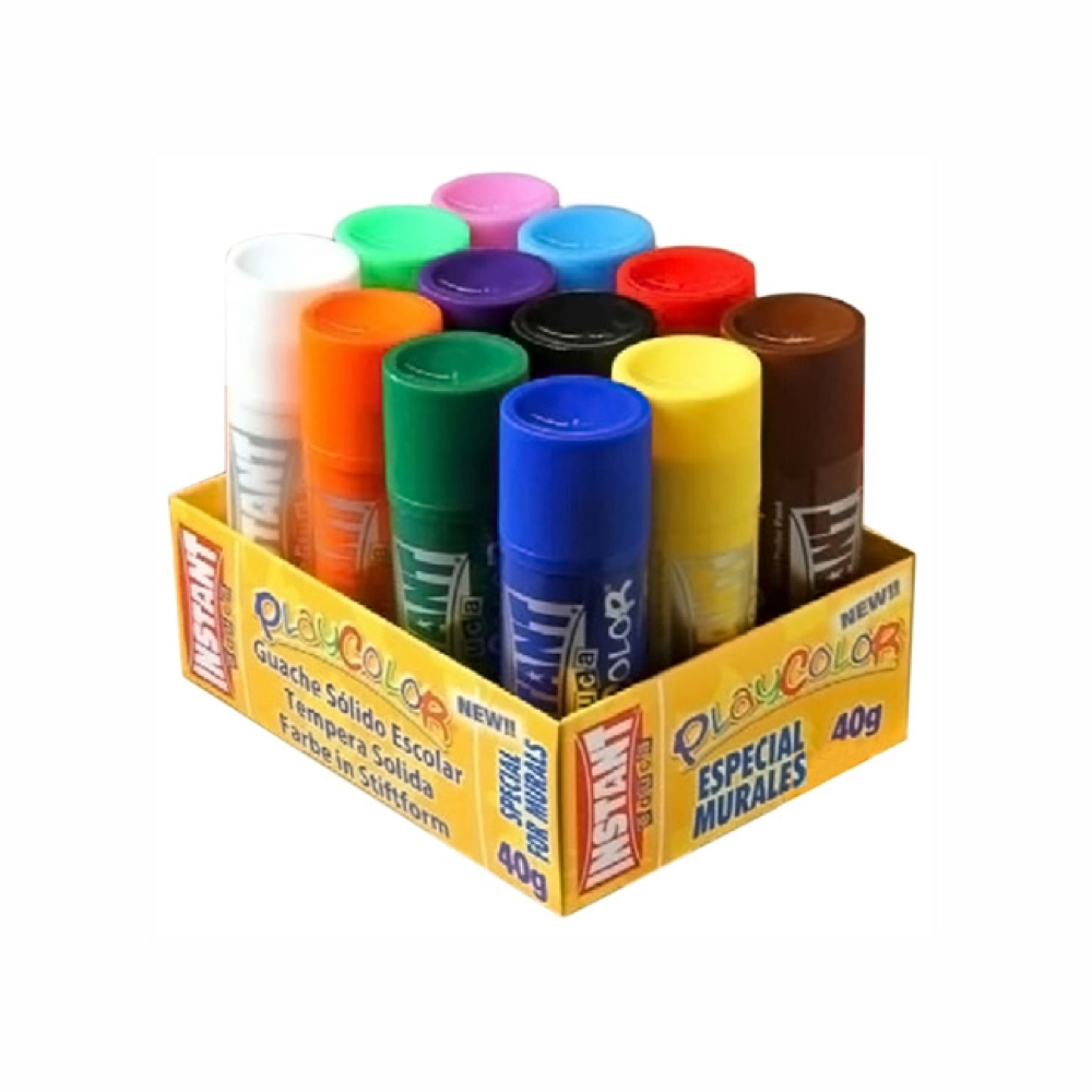 Playcolor Mural Set Of 12 Colors