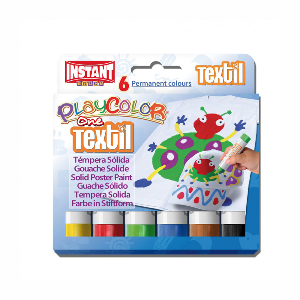 Playcolor Textil Set Of 6 Colors