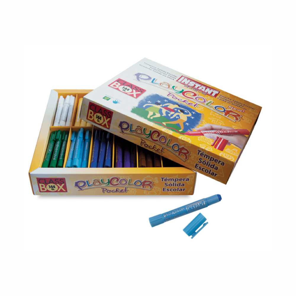 Playcolor Pocket Class Pack Set Of 144