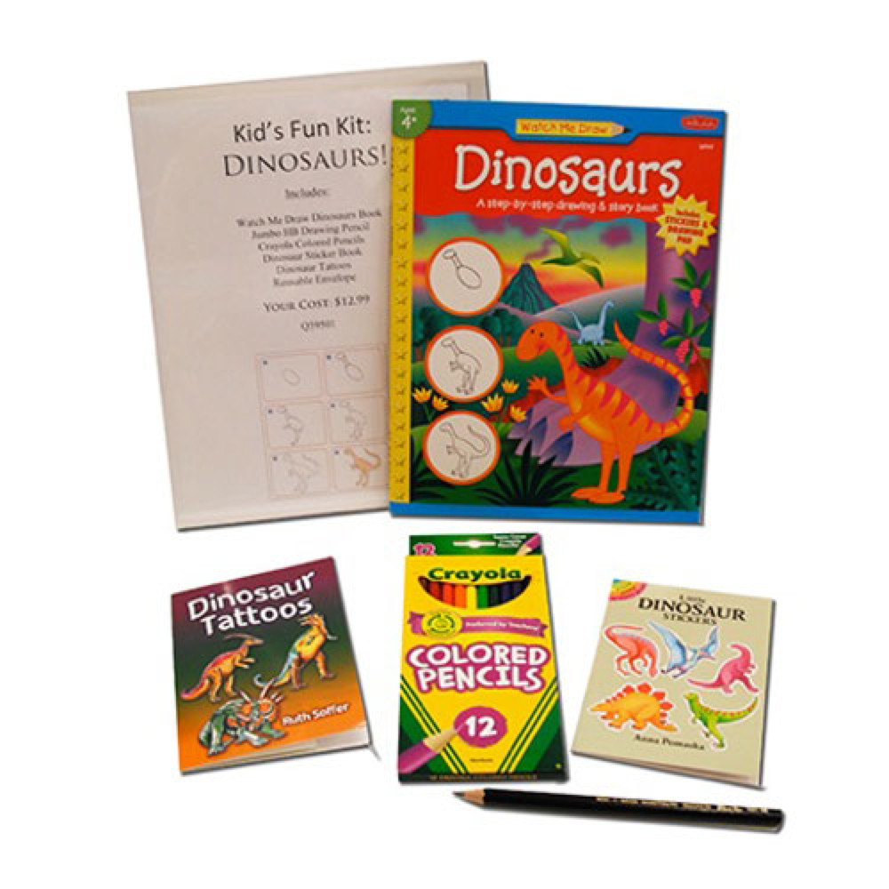 Hyatt's Kids Fun Kit: Dinosaurs