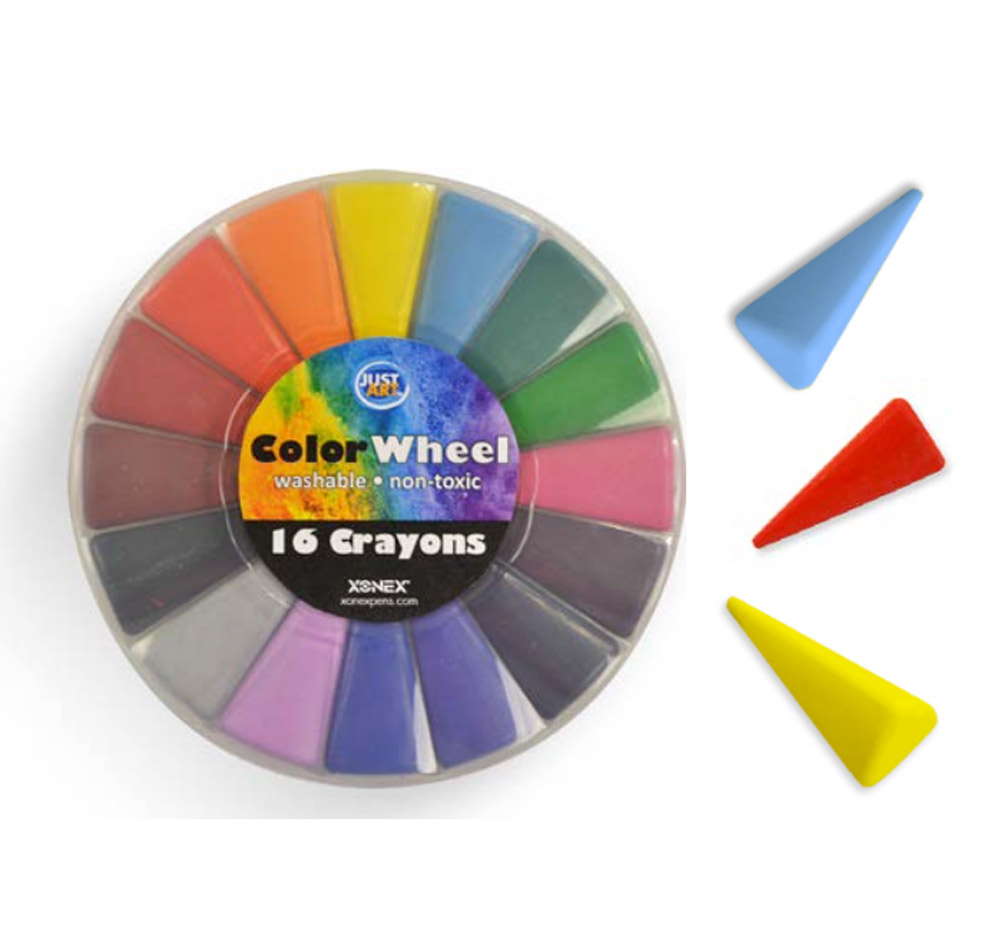 Xonex Color Wheel Crayons Set Of 16