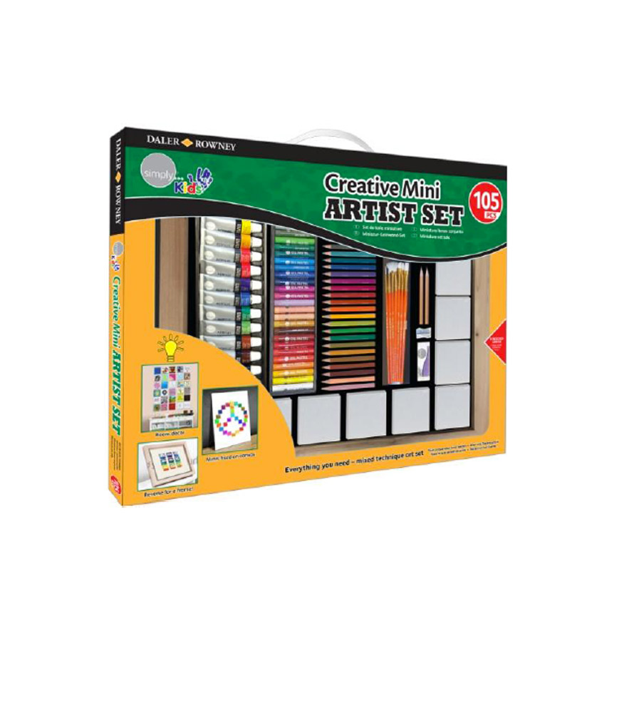 Daler-Rowney Creative Mini Artist Set