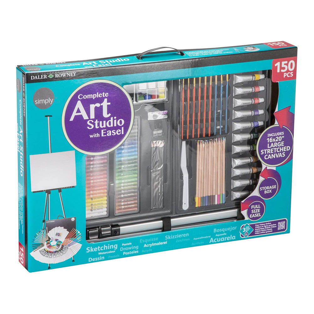 Daler-Rowney Complete Art Set- 150 Pcs