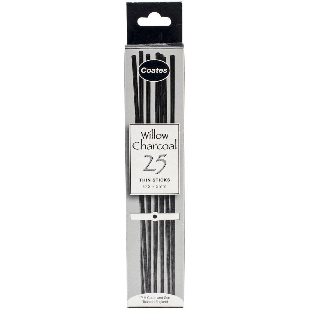 Coates 25 Medium Willow Charcoal
