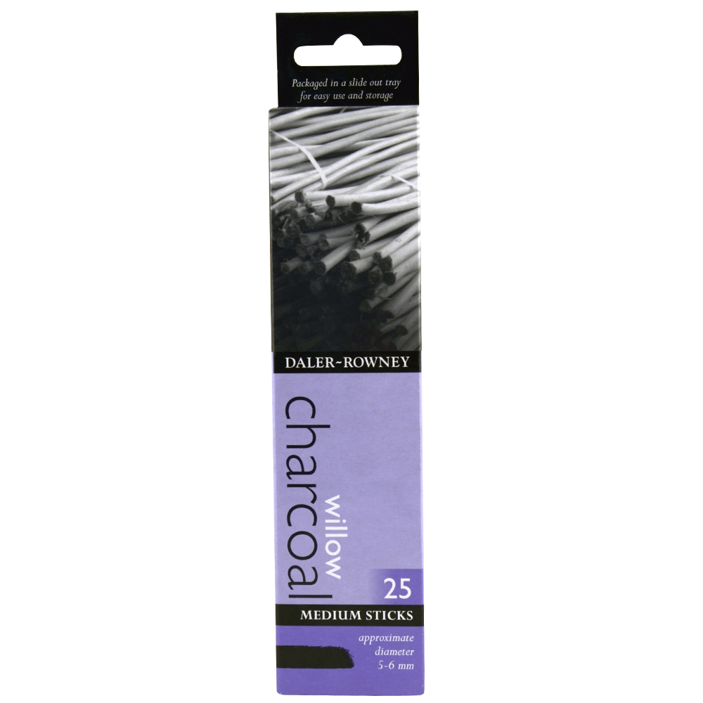 Daler Rowney 25 Med Willlow Charcoal