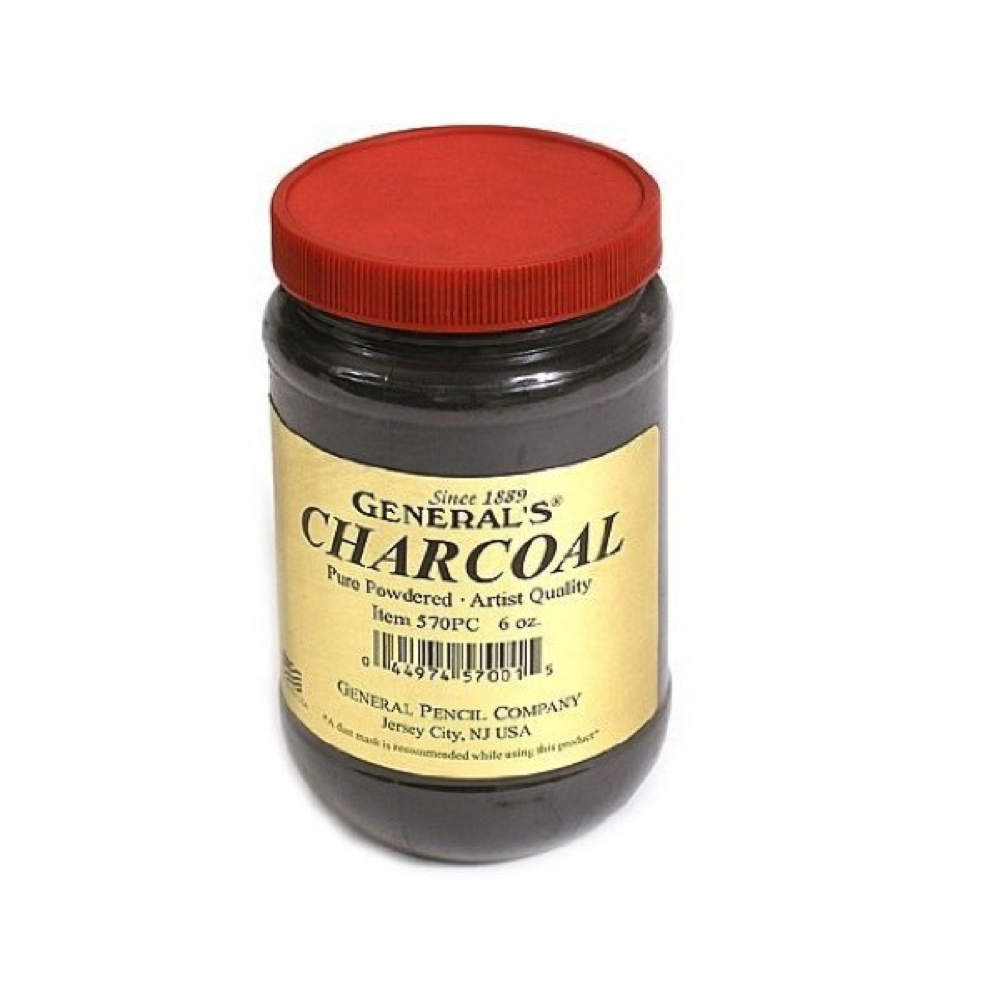 General Powdered Charcoal 6 Oz
