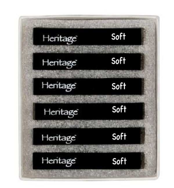 Heritage Compressed Charcoal Soft Set 6