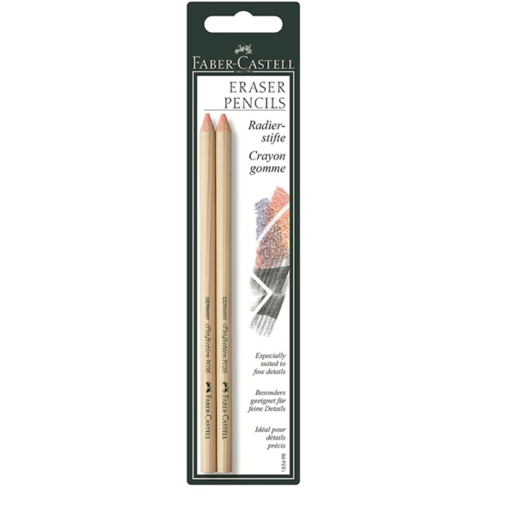 Eraser Pencil Perfection 2 Pack BC