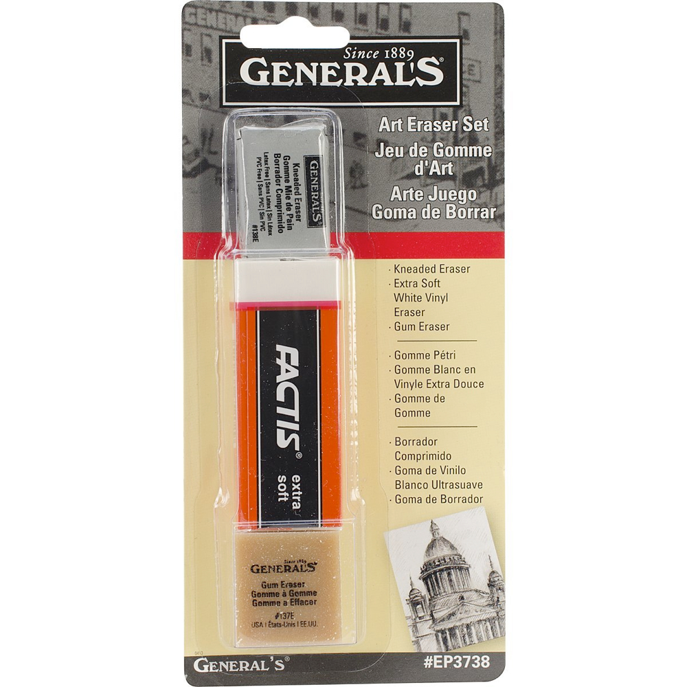 General Art Eraser Set
