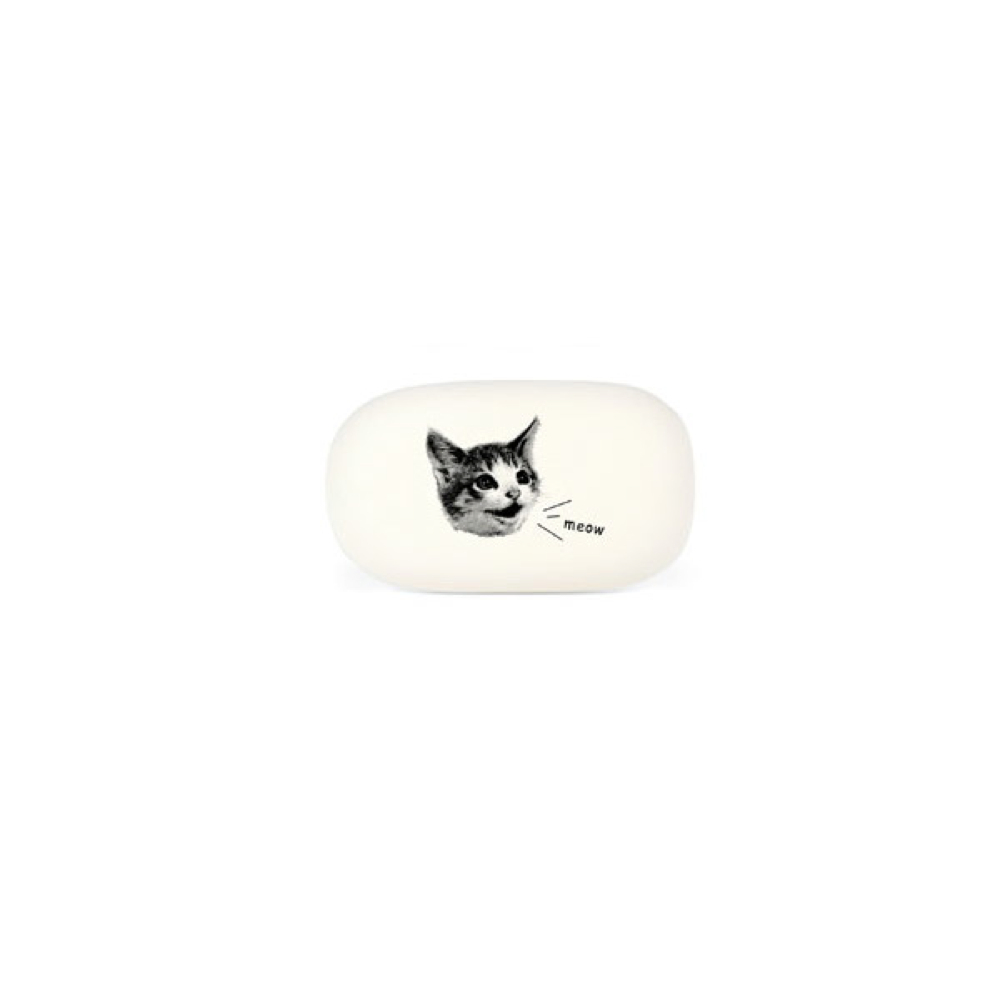 Cavallini Oval Eraser Cat