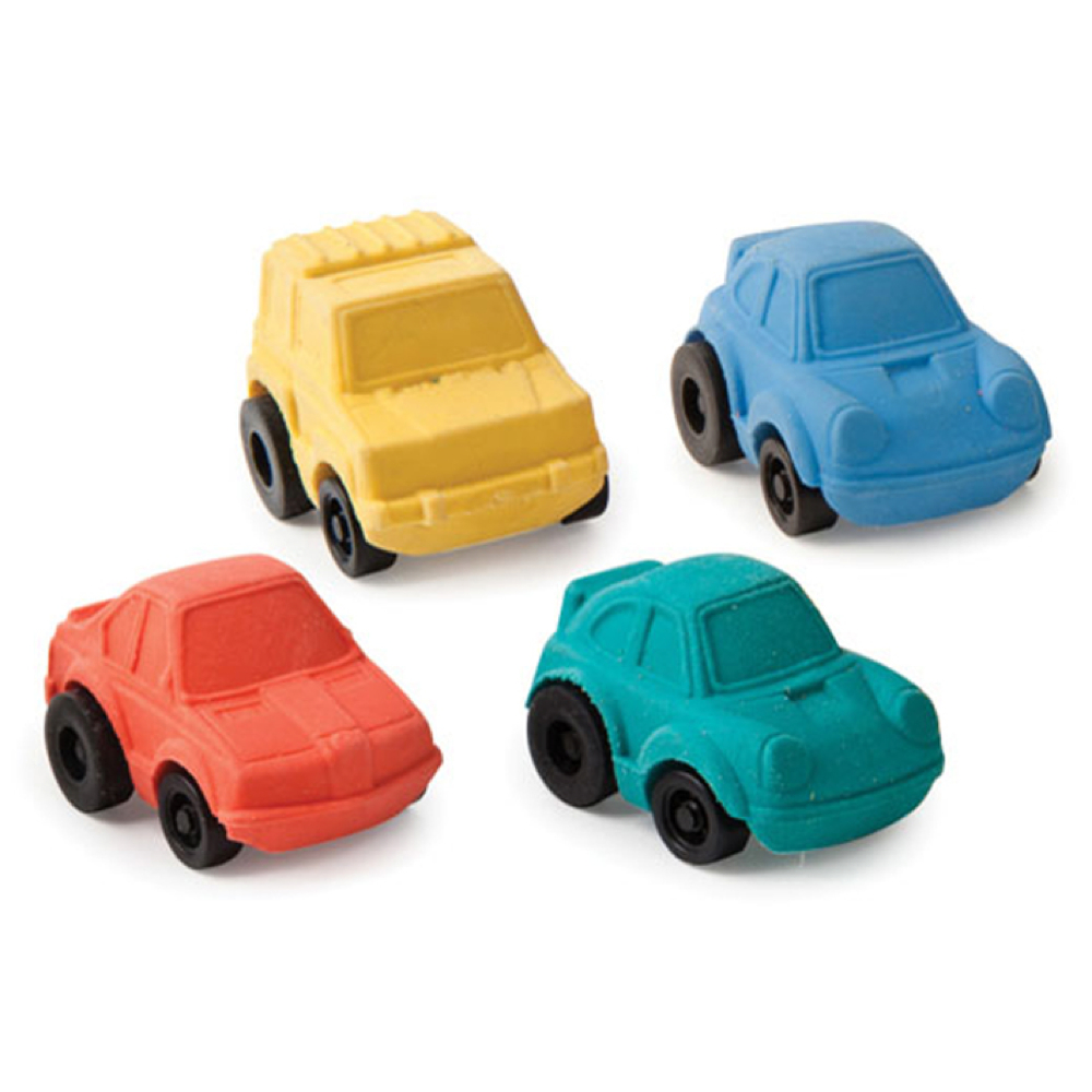 Kikkerland Racer Car Eraser Assorted