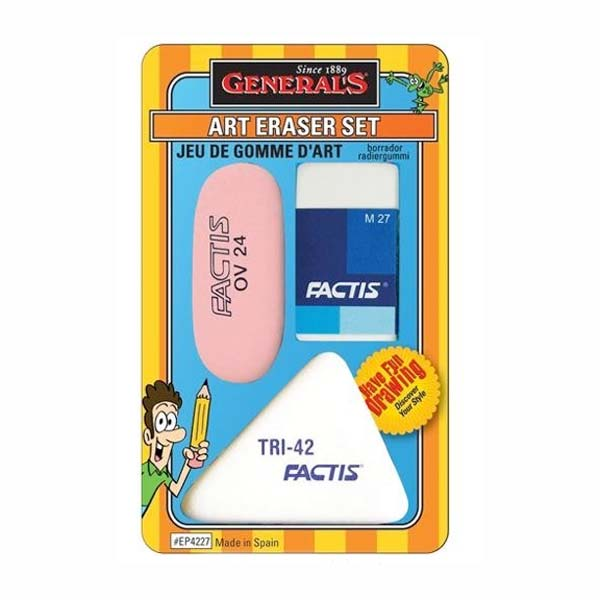 Factis Art Eraser Set/3
