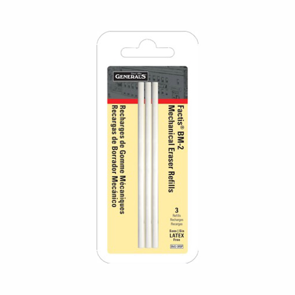 Factis Mechanical Eraser Bm-2 Refills Pk/3