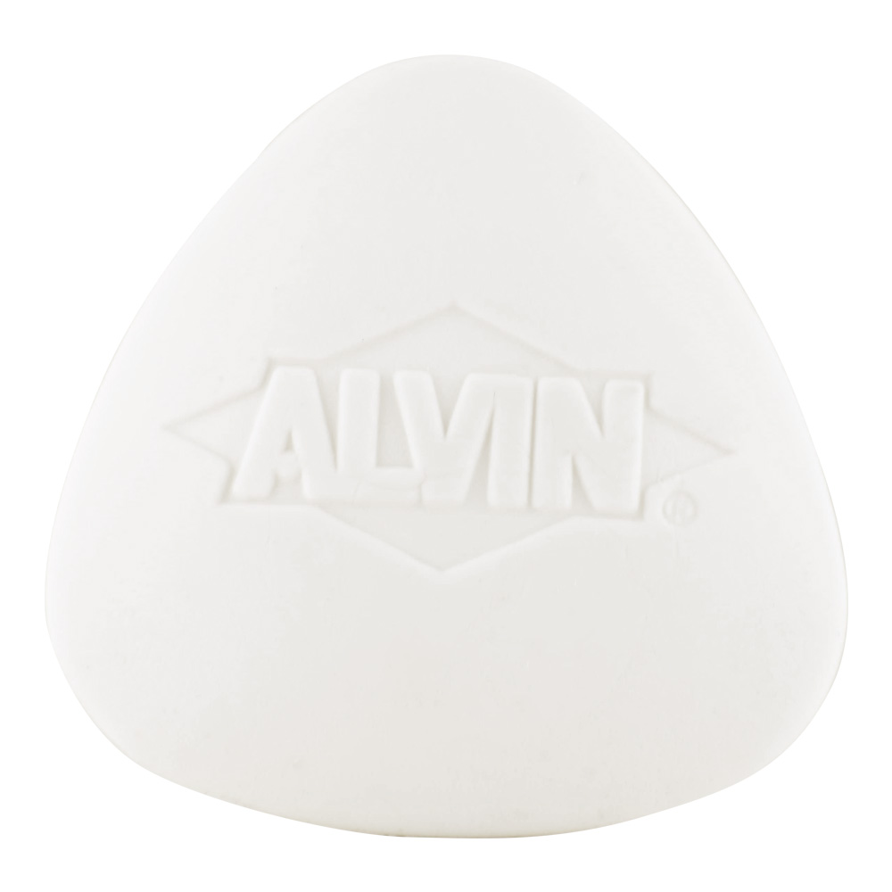 Alvin White Triangular Eraser