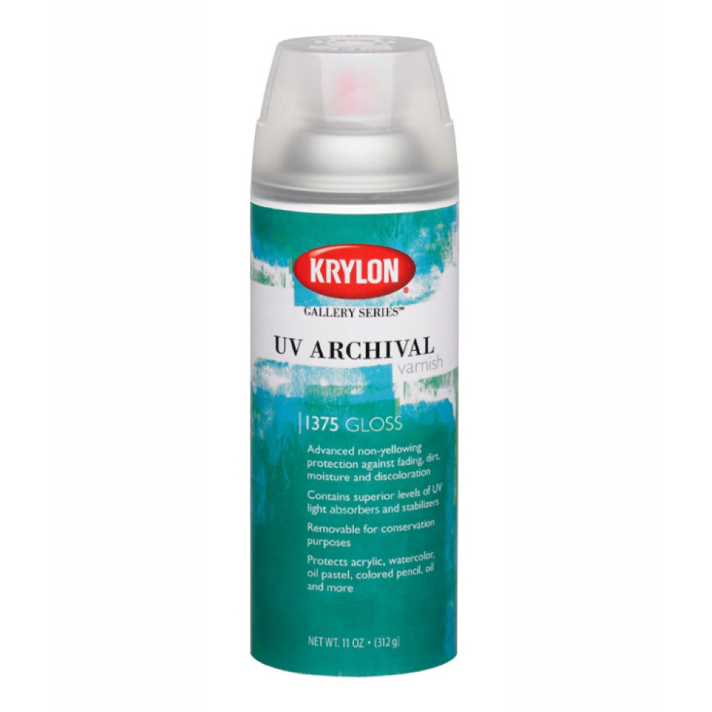 Krylon 11 Oz Uv Archival Varnish Gloss