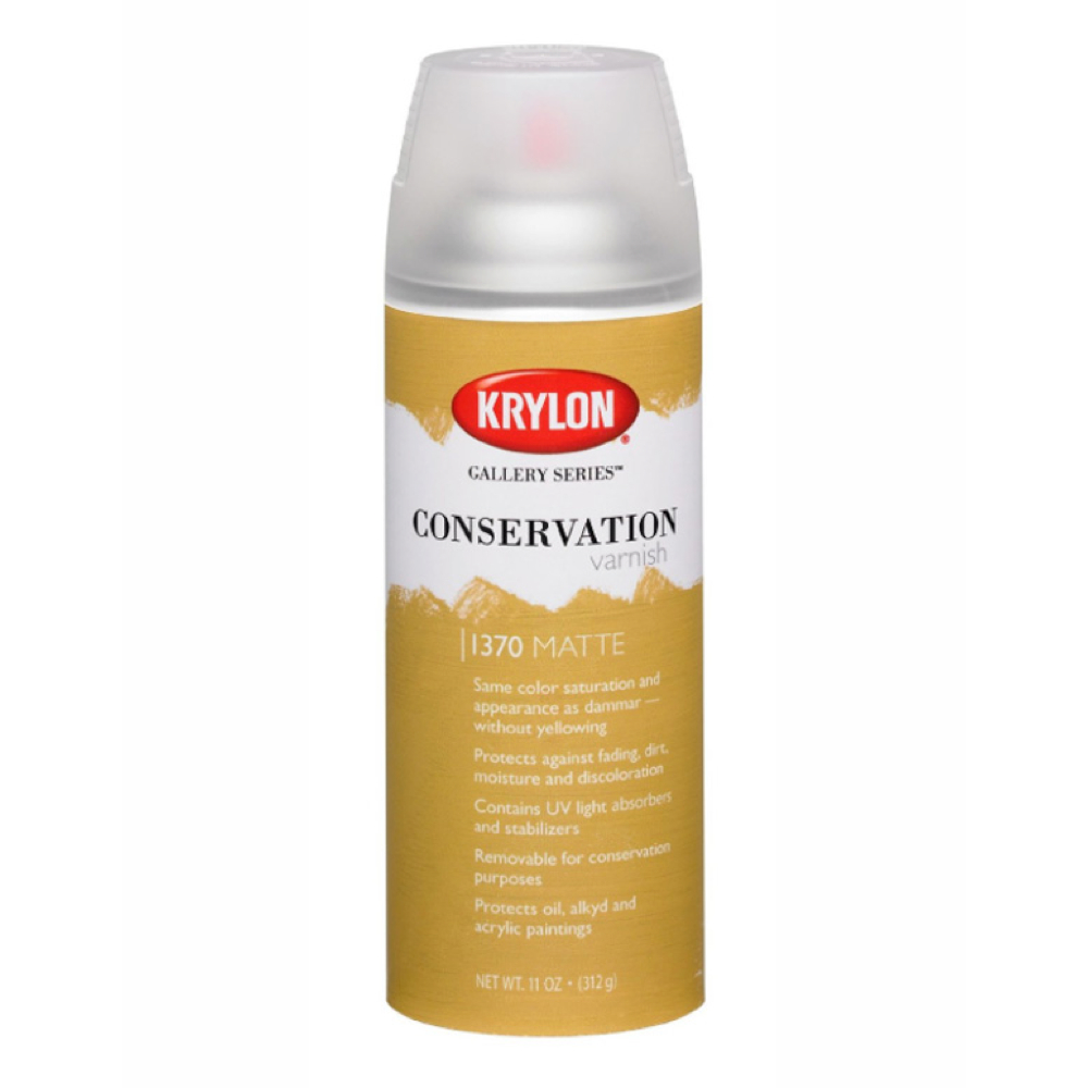 Krylon 11 Oz Conservation Varnish Matte