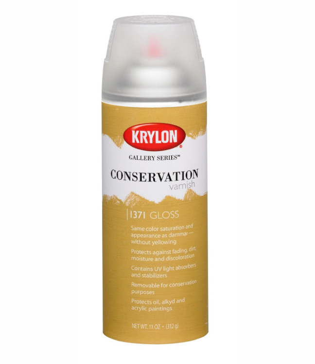 Krylon 11 Oz Conservation Varnish Gloss