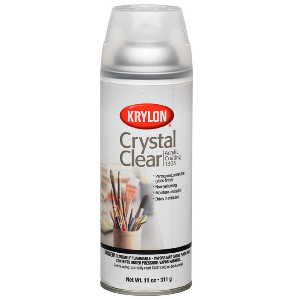 Krylon 1303 Crystal Clear 11 Oz