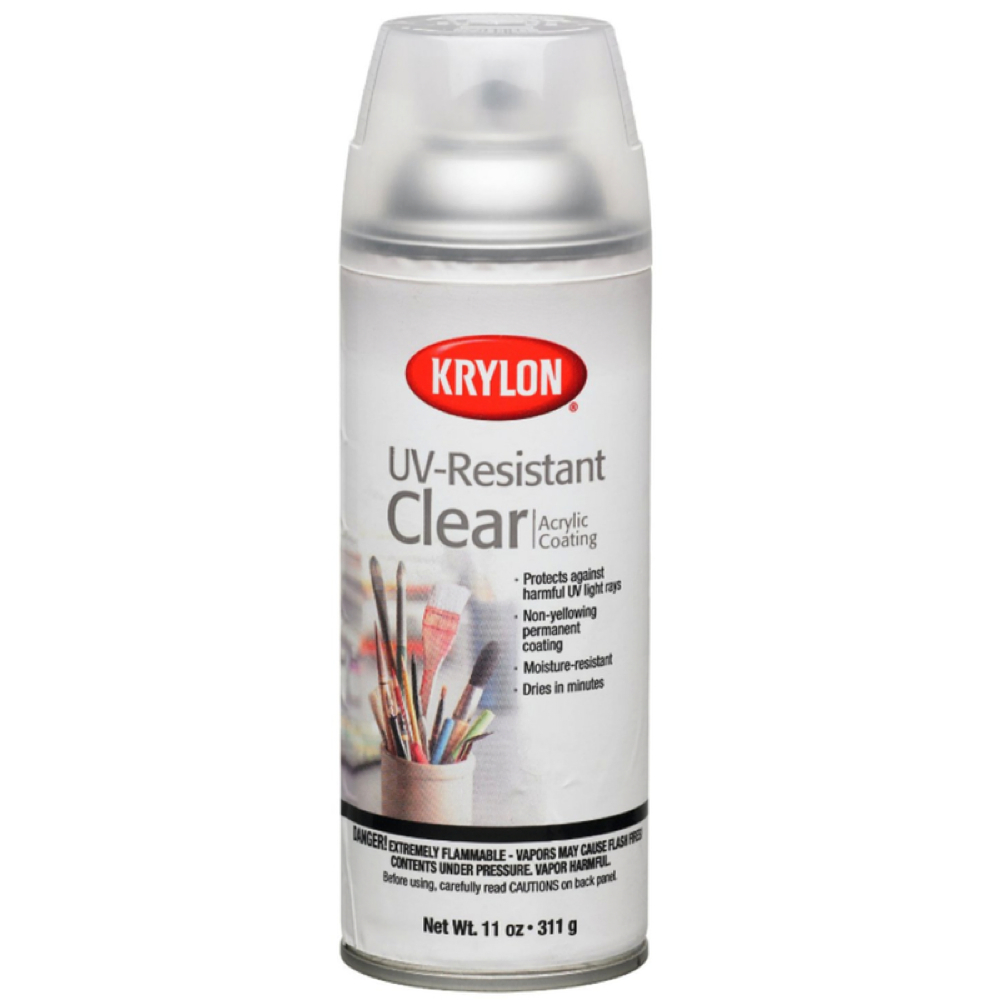 Krylon 1305 Uv Resistant Clear 11 Oz *Orm20