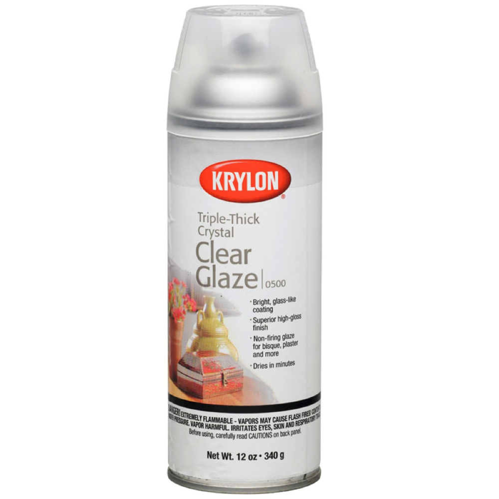 Krylon 0500 Triple Thick Glaze 11 Oz