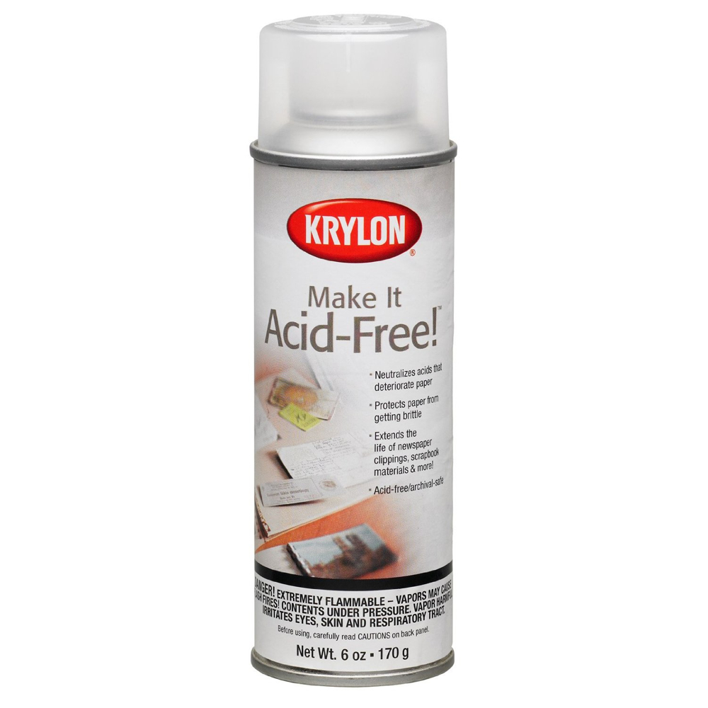 Krylon 7028 Make It Acid-Free 6 Oz *Orm20