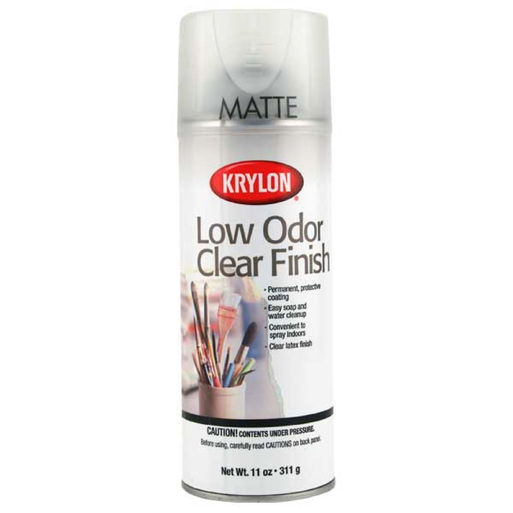 Buy Krylon 7110 Low Odor Clear Gloss 11 Oz