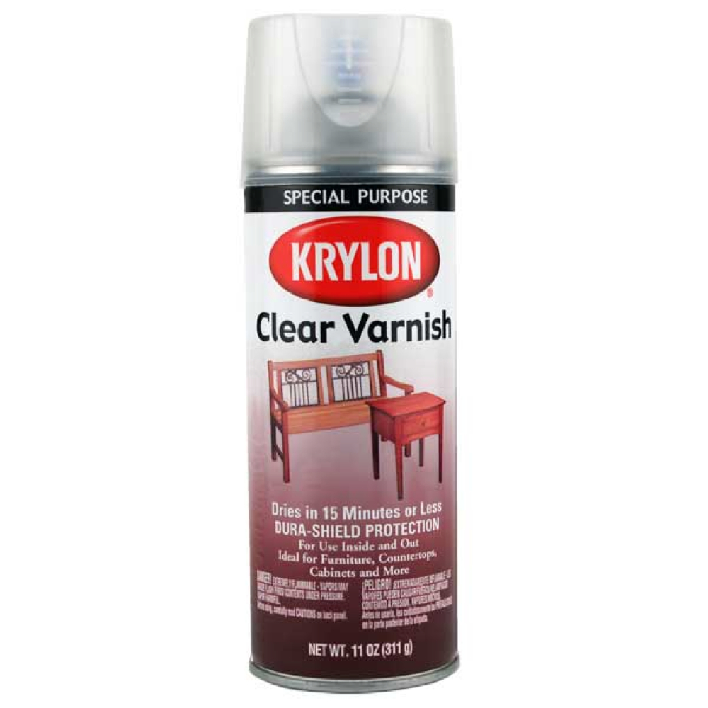 Krylon 7001 Gloss Varnish 11.75 Oz *Orm20