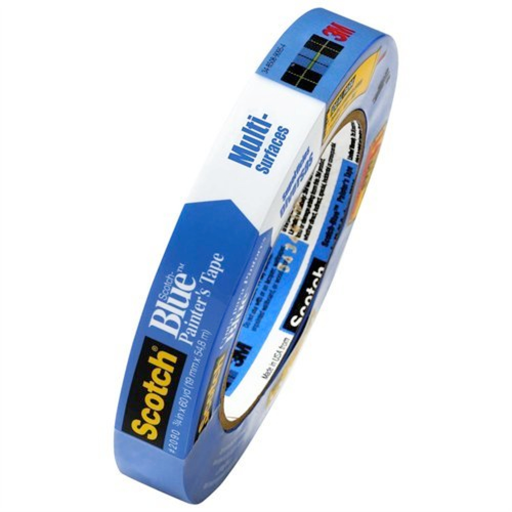 3M 2090 Blue Painters Tape 3/4In X 60Yds