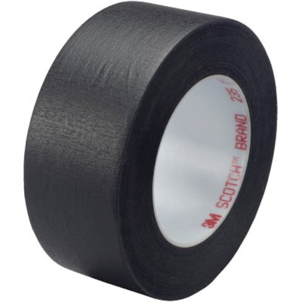 3M 235 Black Photo Tape 3/4In X 60Yds
