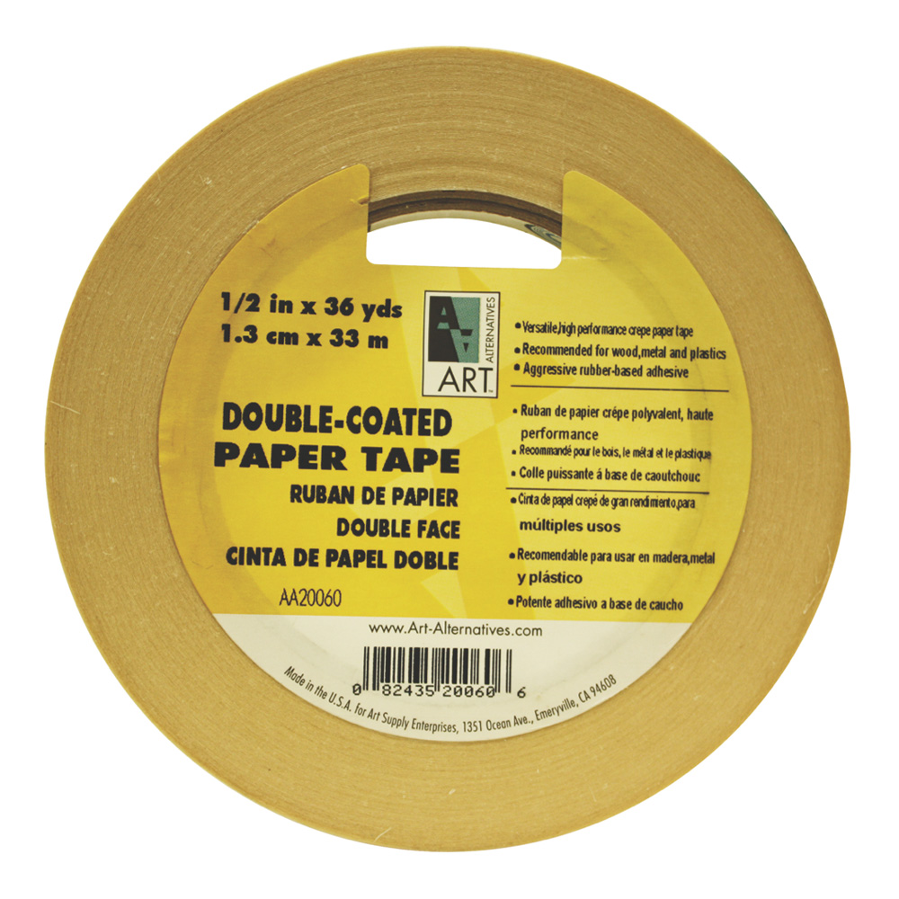 Pro Double Coated Masking Tape 1In X 36Yds