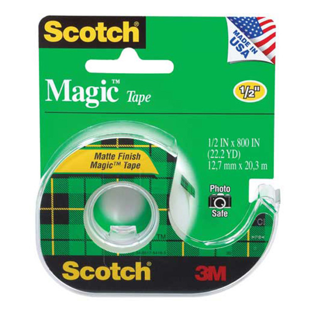 3M 810 Magic Mending Tape 3/4In X 36Yds