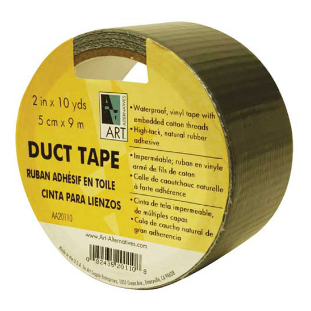 Silver Duct Tape 2In X 10Yd