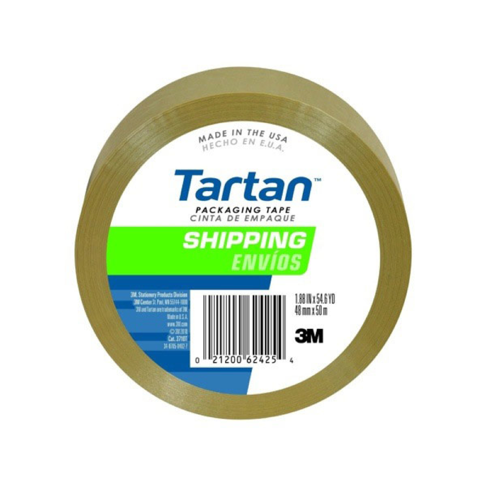 3M 3710 Tan Sealing Tape 48Mm X 50M