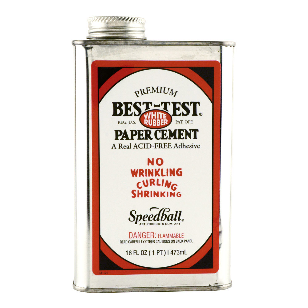 Best-Test Paper Cement 16 Oz *Orm5