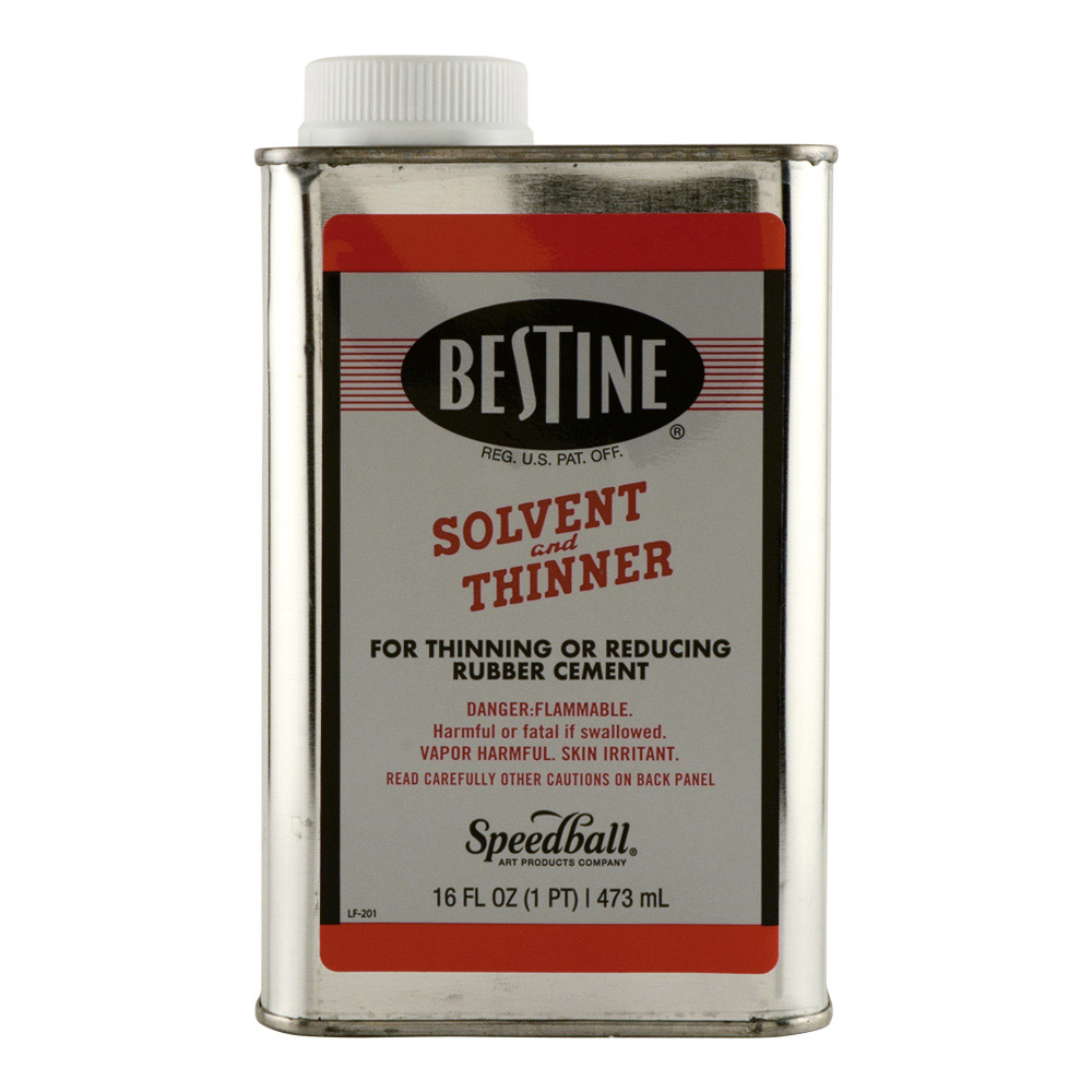 Bestine Rubber Cement Thinner 16 Oz *Orm16