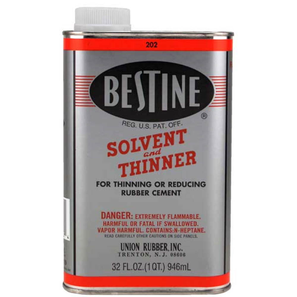 Buy Bestine Rubber Cement Thinner 32 Oz