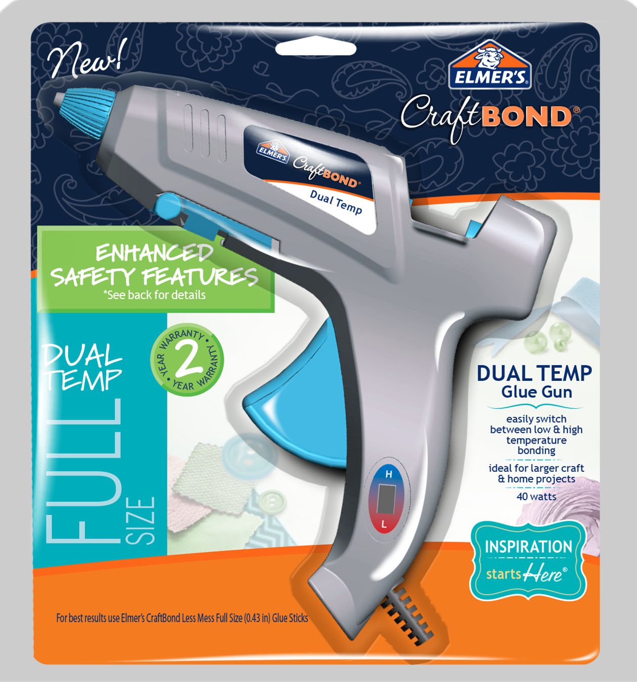Elmers Dual Temp Hot Glue Gun
