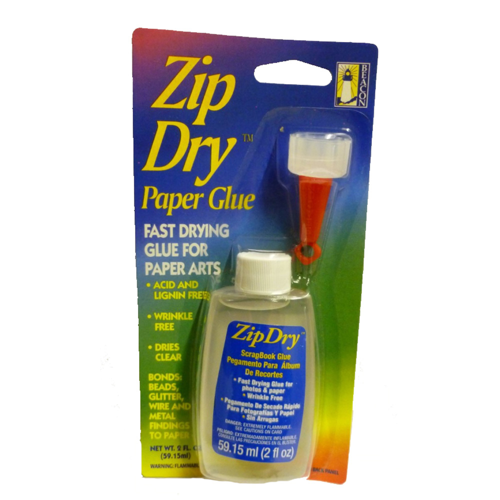 Beacon Zip Dry Paper Glue 2 Ounce
