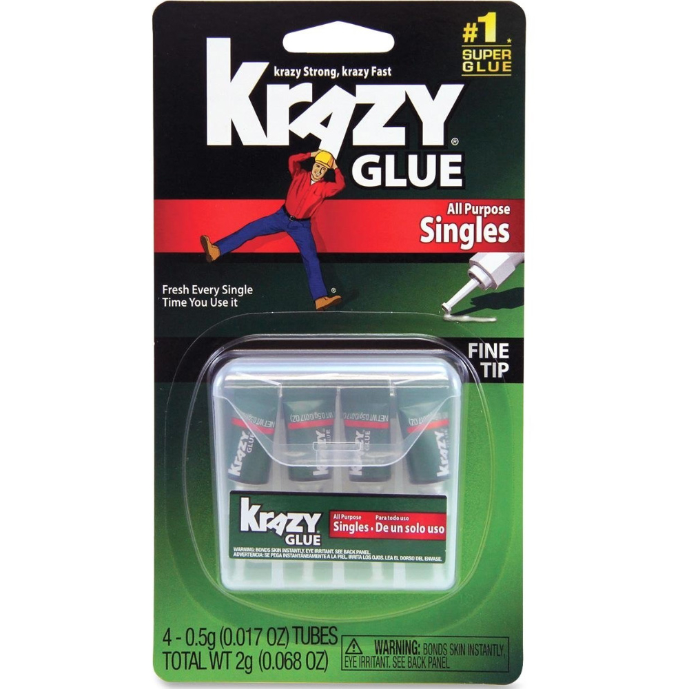 Krazy Glue To-Go 4/Pack